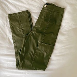 Pretty little thing high waist leather pants